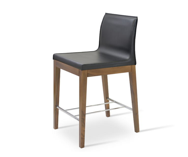 Polo Wood Stool