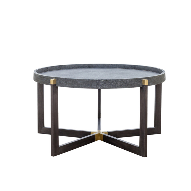 Vibe Shagreen Round Coffee Table