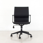 Low Back Office Chair with Black Nylon Frame