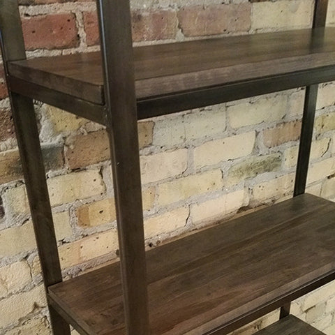 Vintage Maple Smith Bookcase