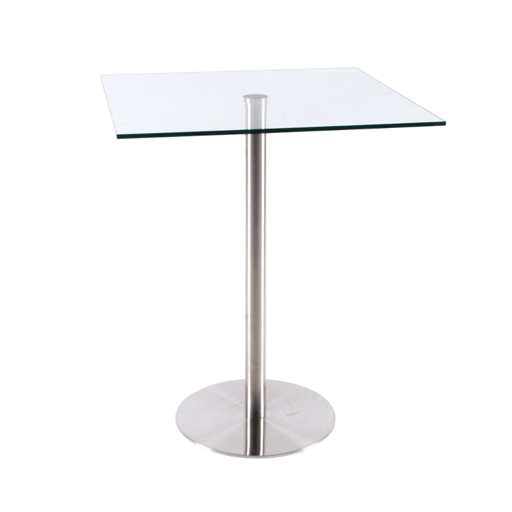 Audrey Square Glass Table