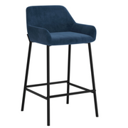 Blue Baily Counter Stool