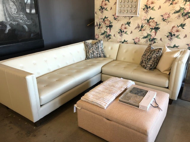 Richmond Leather Floor Model Sectional