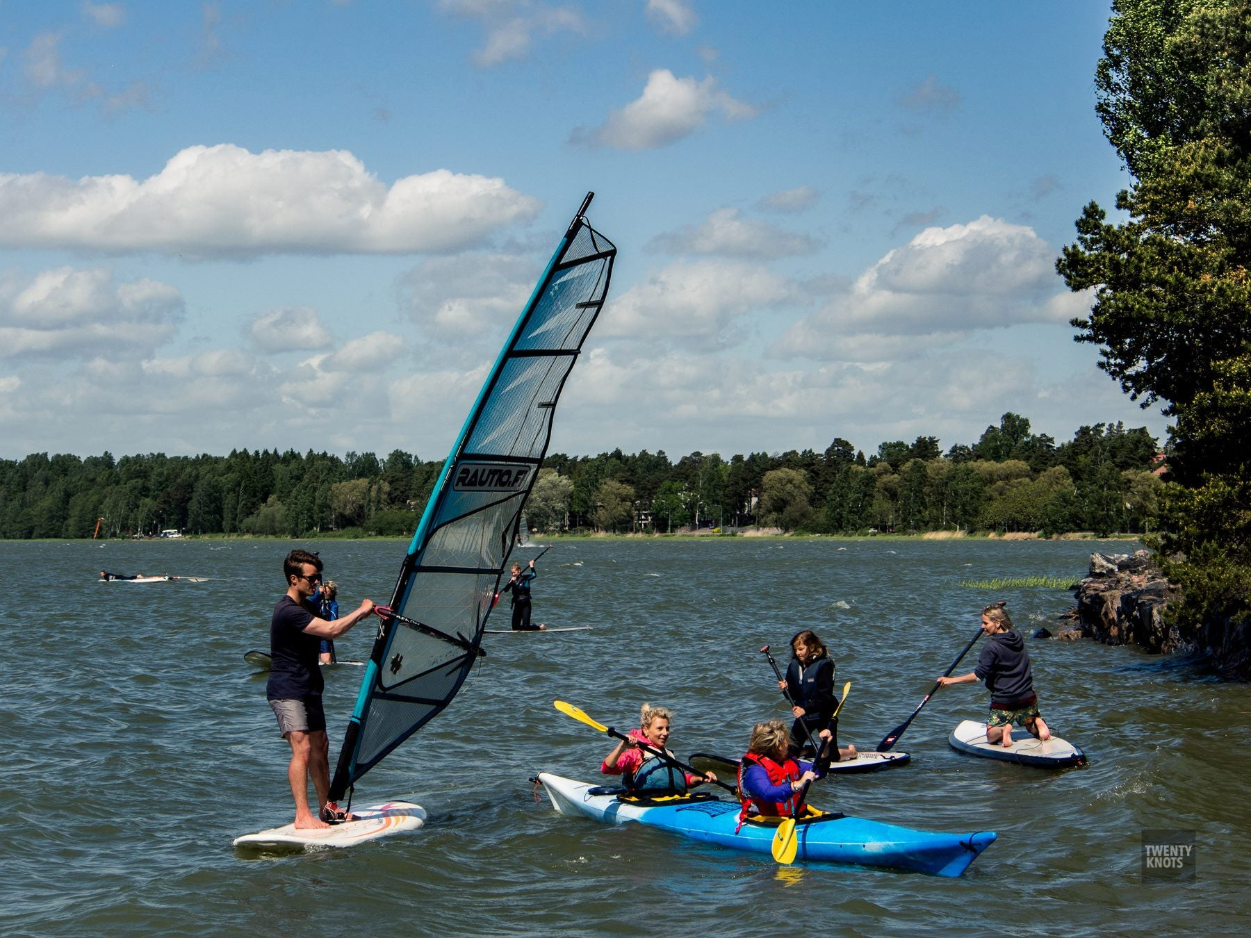 TwentyKnots SUP & Windsurf Taster Sessions 2015