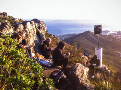 Breakfast at Table Mountain