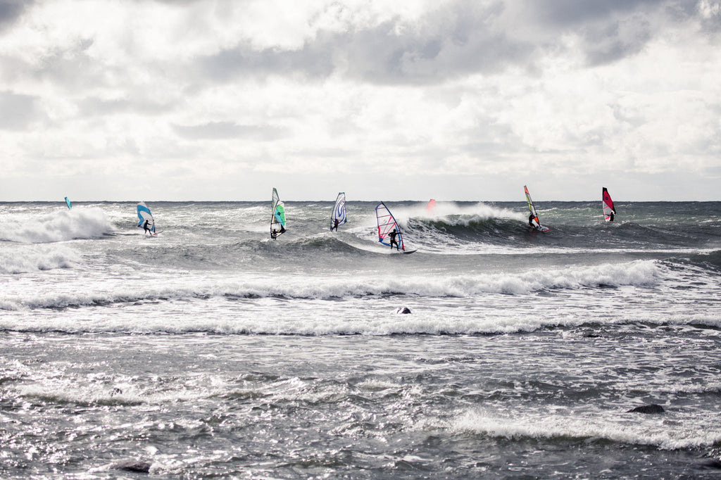 Wavesailing and windsurfing in Sweden