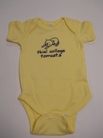 Yellow Baby Onesie
