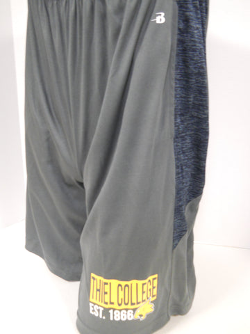 Gray/Navy Tonal Shorts