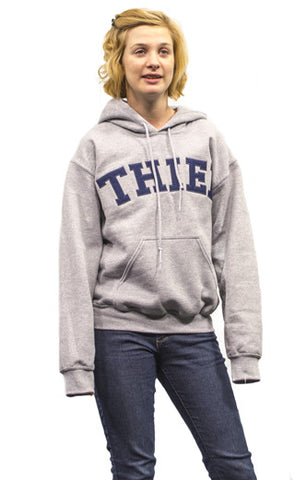 Classic Grey Hooded Sweatshirt