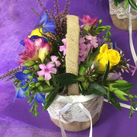 Flower girls basket