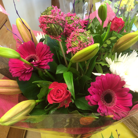 Sweet pinks for Mum