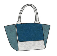 ArtAK Bags Sail Light Celine Blue Bag Marine Beach