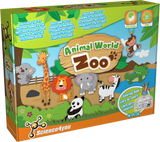 ANIMAL WORLD ZOO GAME TOY SCIENCE4YOU