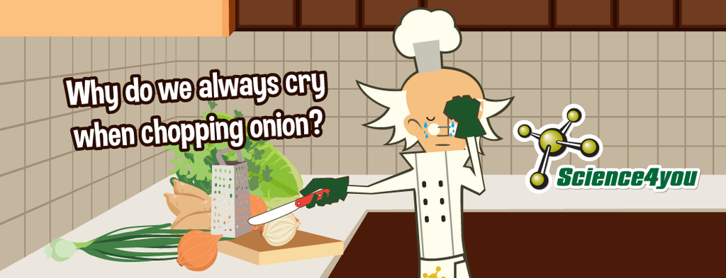 Why do we always cry when chopping onion?