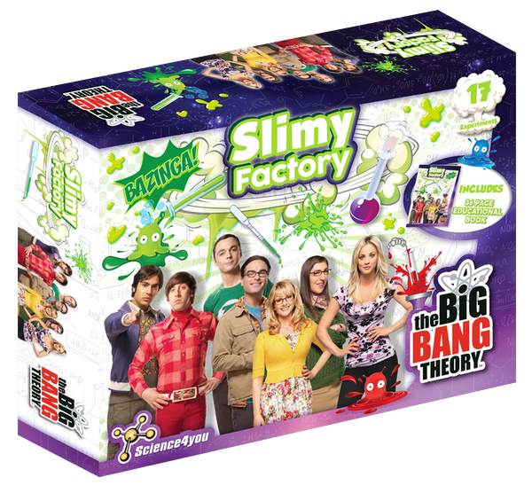 Slimy Factory The Big Bang Theory edition front side