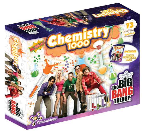 Chemistry 1000 The Big Bang Theory edition front side