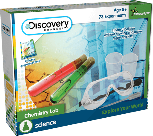 Science4you | Chemistry Lab: Discovery Channel | Educational Science Toy | STEM toy
