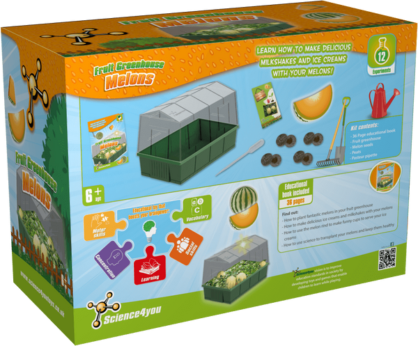 Fruit Greenhouse - Melons | Educational Ecology Toy | STEM