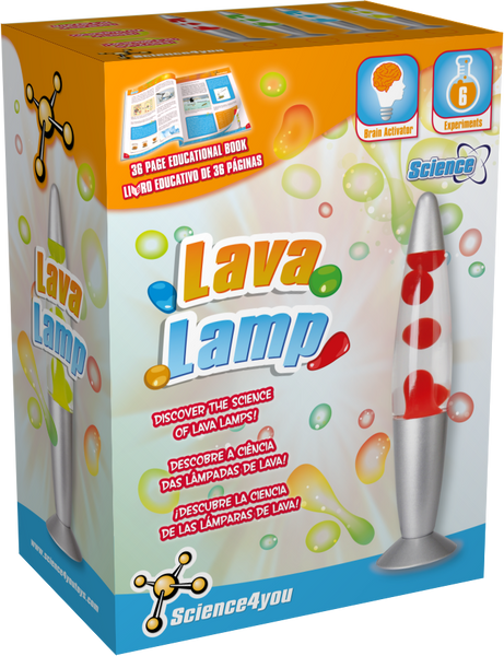 Lava Lamp | Educational Science Toy | Science4you