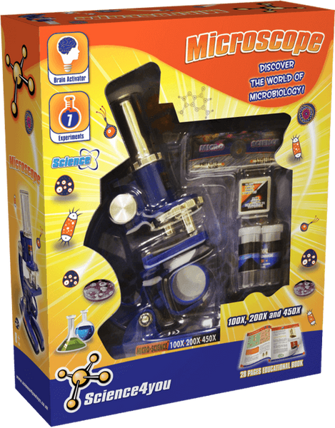 Microscope Education Toy front side