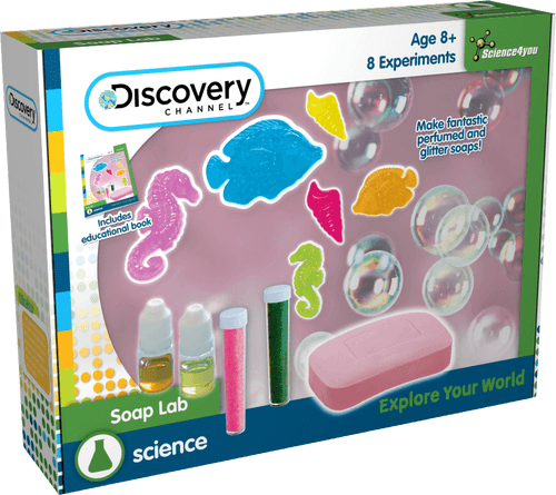 Soap Lab: Discovery Channel