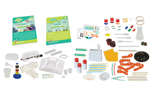 Super Science Kit 6 in 1 Educational Toy content