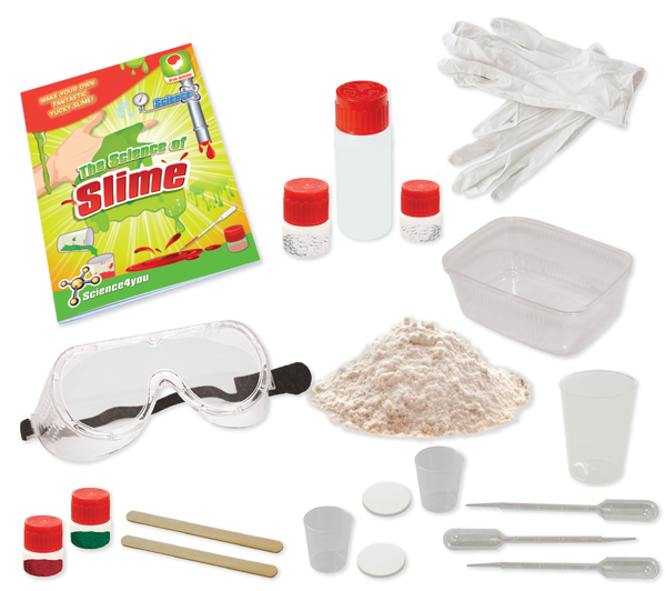 The Science of Slime Kit content