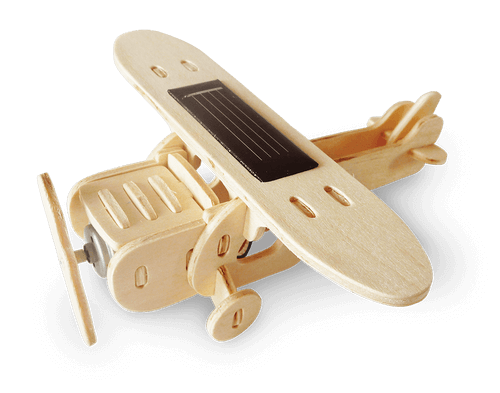 Solar Plane Science4you Educational Toy