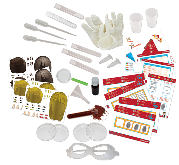 DNA Detective: Criminal Investigation Educational Toy content