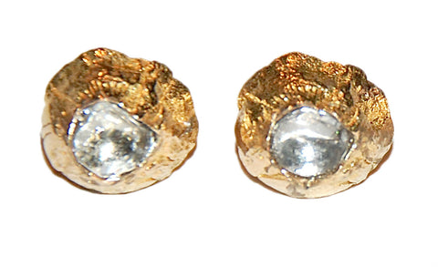 Barnacle grand polki diamond earring