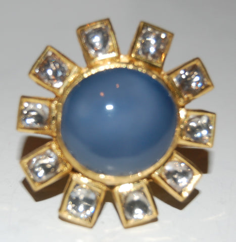 Chalcedony russian ring