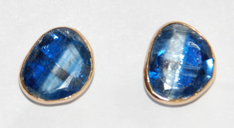 Kyanite unusual shape earring