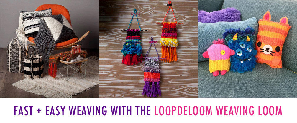 National Craft Month - Weaving Loom