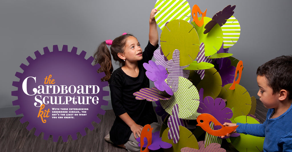Craft-tastic cardboard sculpture kit