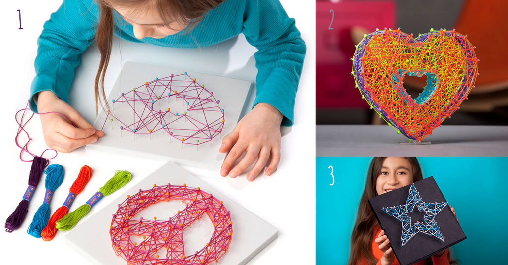 Craft-tastic string art kits