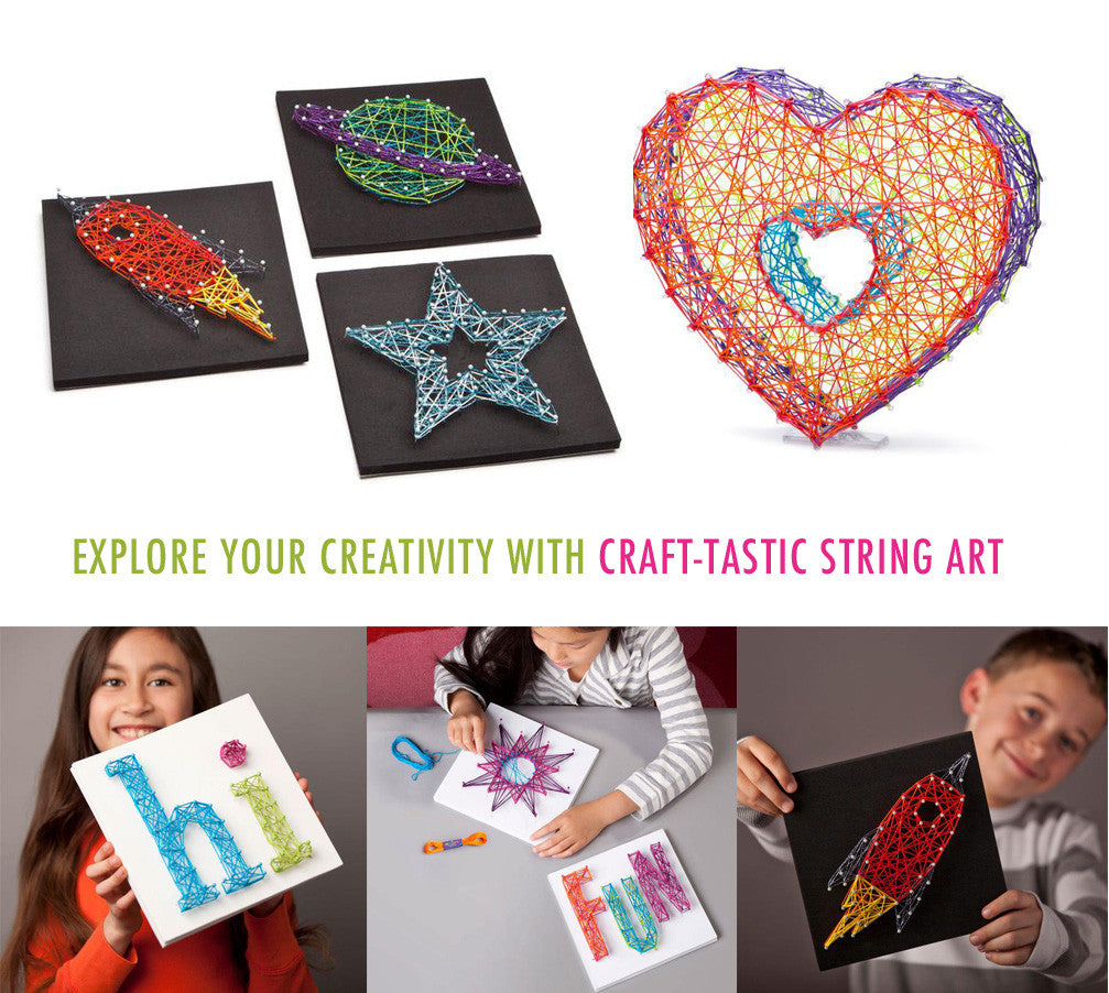 National Craft Month - DIY String Art Kits