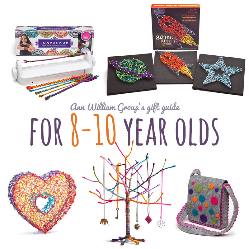 Crafty gift ideas for the 8 to 10 year old on your list for Crafts for girls age 9