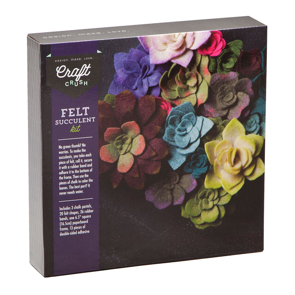 craft crush felt succulents kit ann williams group