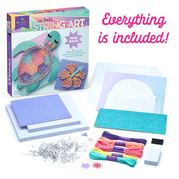 Craft-tastic Sea Turtle String Art Kit