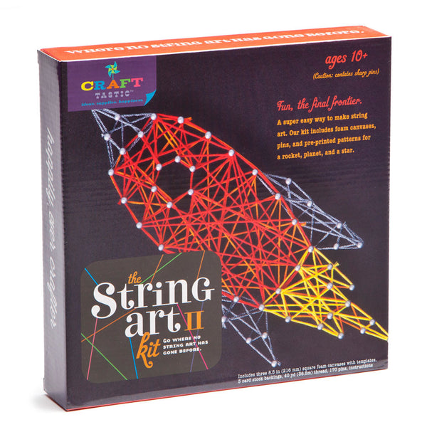 Craft-tastic Peace Sign String Art Kit