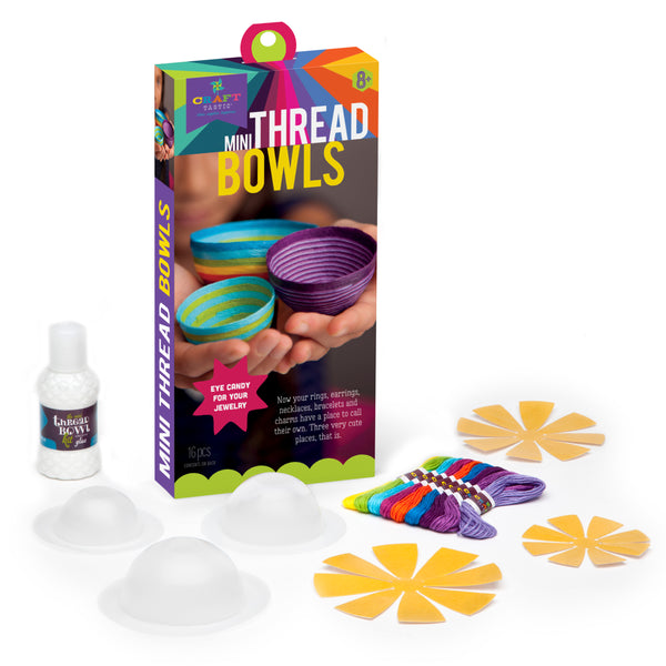 Craft-tastic Mini Thread Bowls Kit