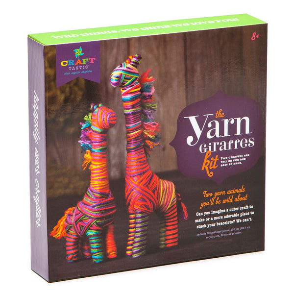 Craft-tastic Wild Yarn Babies Kit