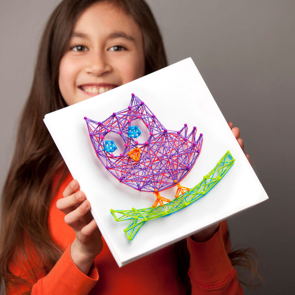 Craft-tastic Owl String Art Kit
