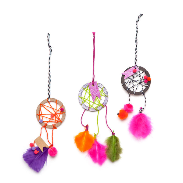 Craft-tastic Mini Dream Catchers