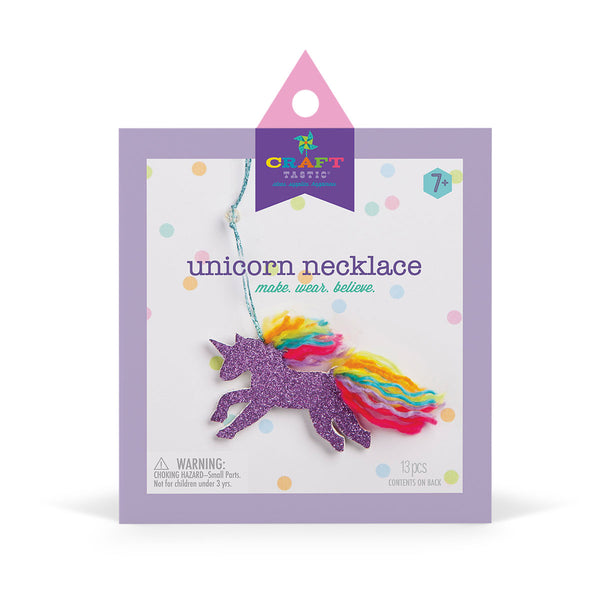 Craft-tastic Unicorn Necklace