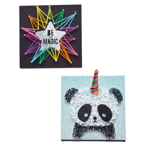 Craft-tastic Pandacorn String Art Kit