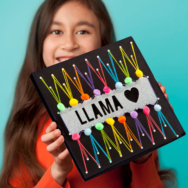 Craft-tastic Llama String Art Kit