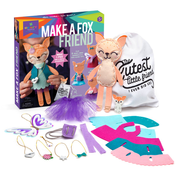 Craft-tastic Make a Fox Friend