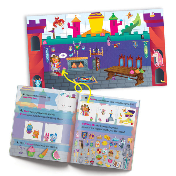 Craft-tastic Jr Treasure Sticker Puzzle