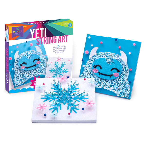 Craft-tastic Yeti String Art Kit